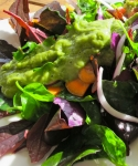 Creamy raw goddess dressing