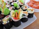 Sushi nori and sauce