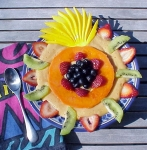 Masterpiece fruit spoothie