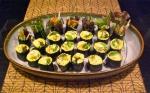 Sushi nori, curried palmito rice