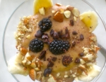 Masterpiece fruit spoothie - berry banana nut
