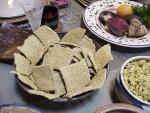 """Passover raw """"matzoh"""""""
