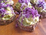 Sprouted Indian lentil quiche
